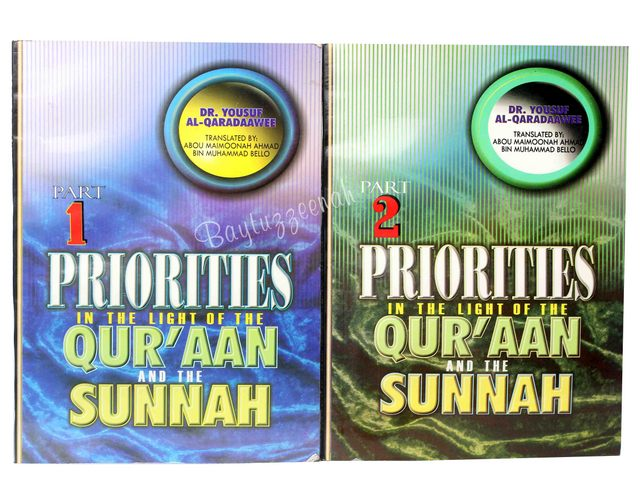 PRIORITIES IN THE LIGHT OF THE QURAN..